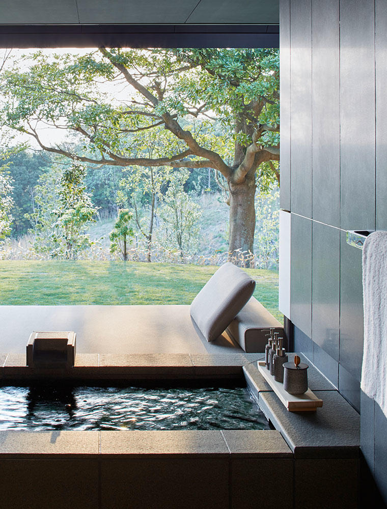 Private Onsen, Mori Suite - Amanemu, Japan