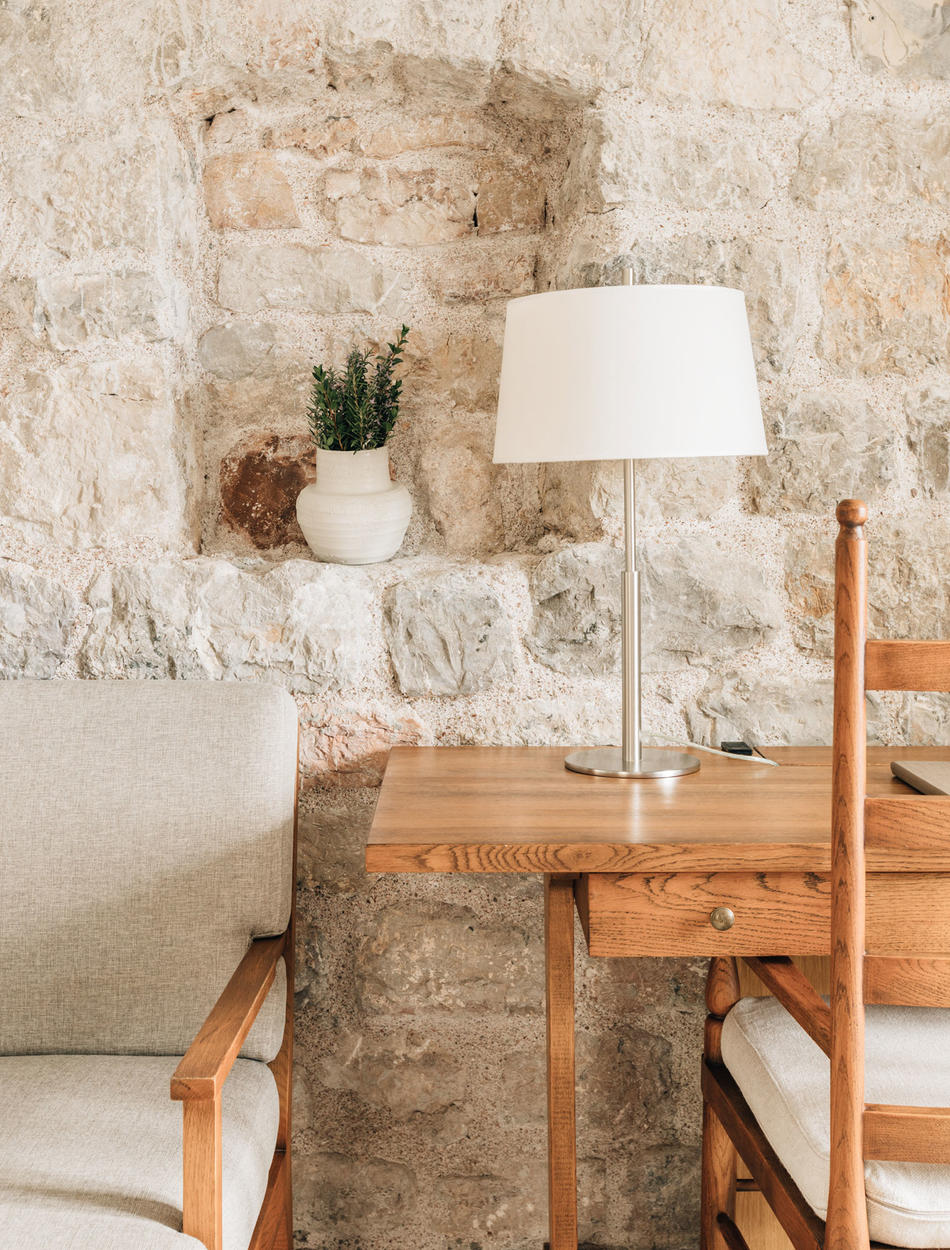 Writing Desk, Three-Bedroom Village Cottage, Aman Sveti Stefan, Montenegro