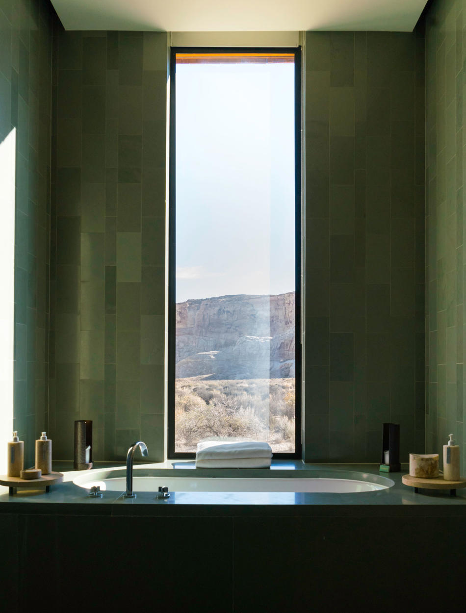 Bathroom, The Amangiri Suite, Amangiri, USA
