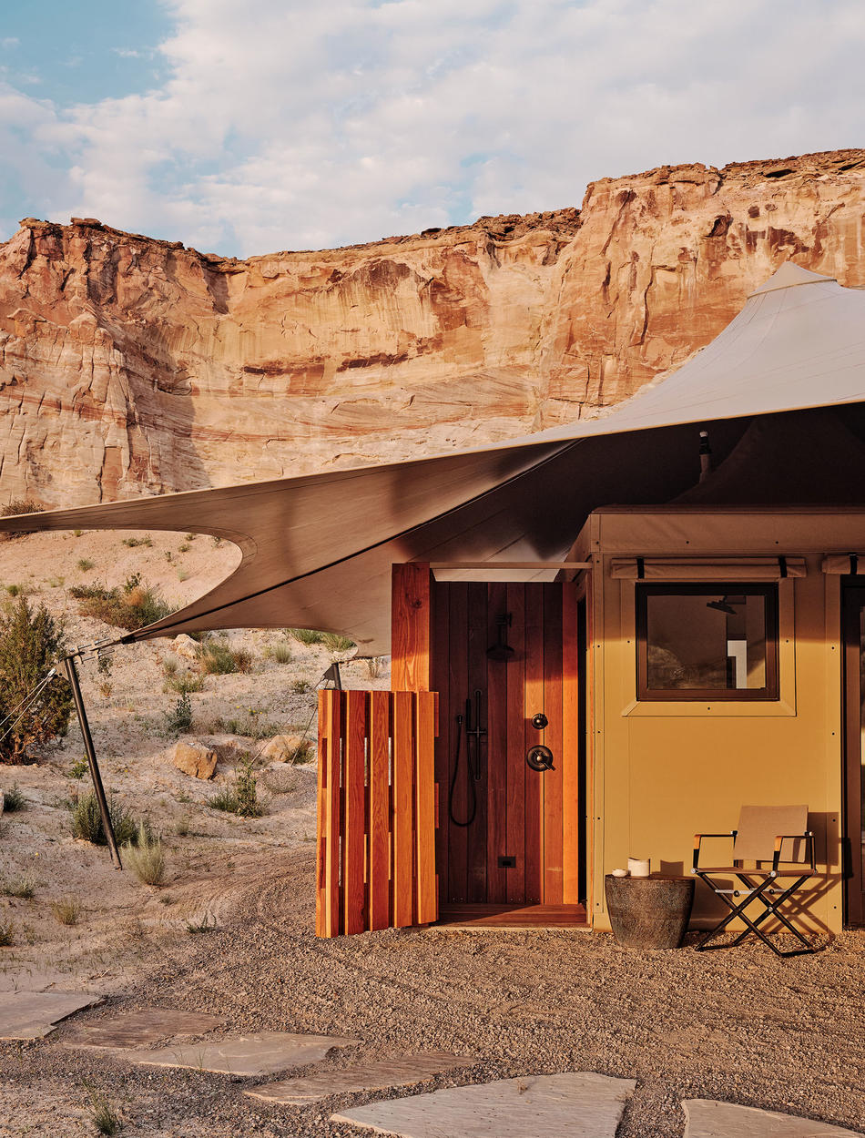 Entrance, Two-bedroom Mesa Pavilion, Camp Sarika, Amangiri, USA