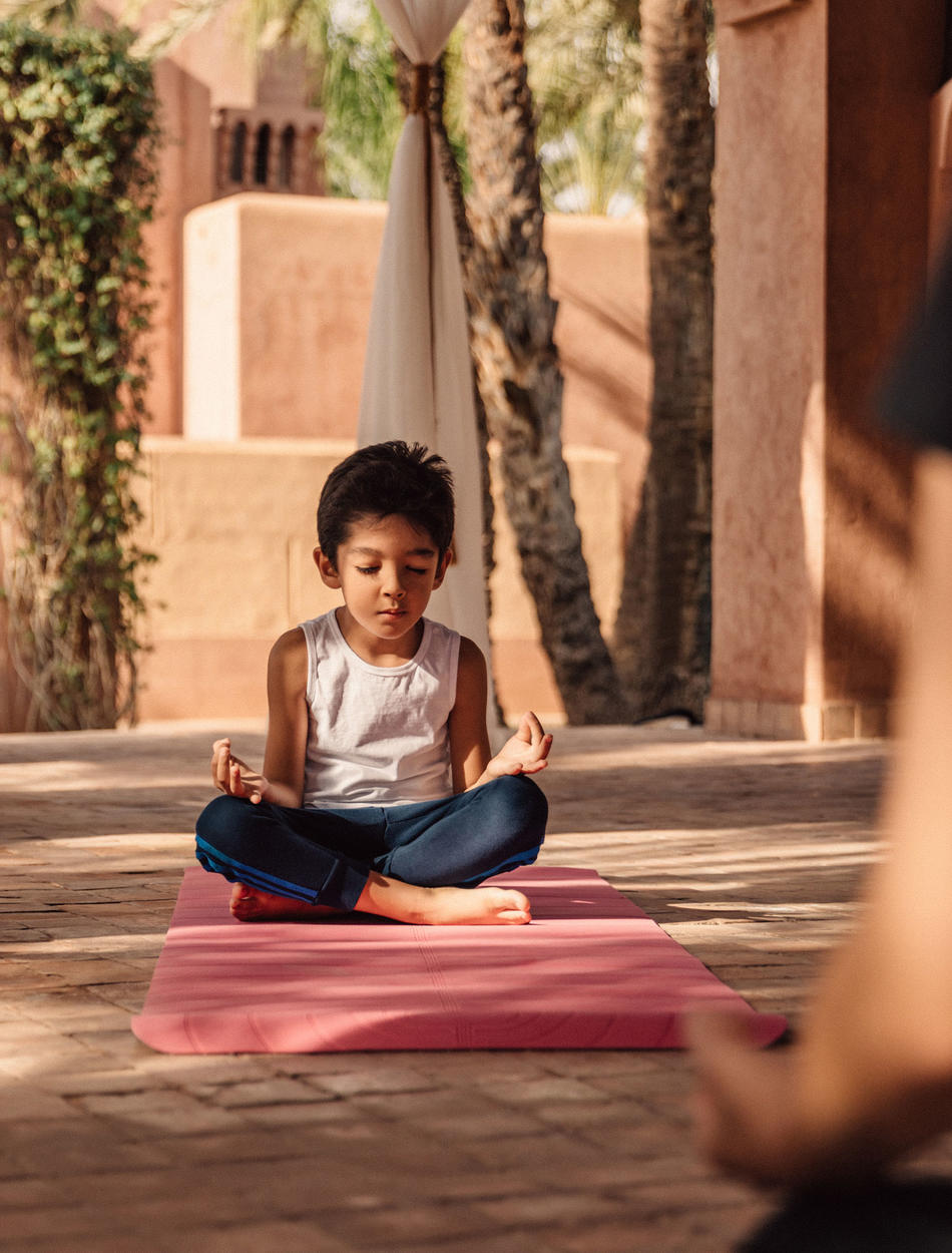 Amanjena, Marrakech - Outdoor Yoga, Child