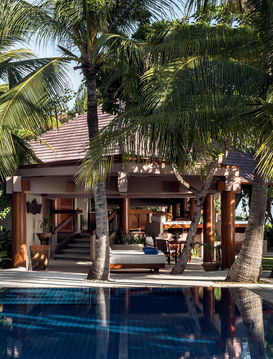 Swimming Pool & Terrace, One-Bedroom Villa, Amanpulo, Philippines