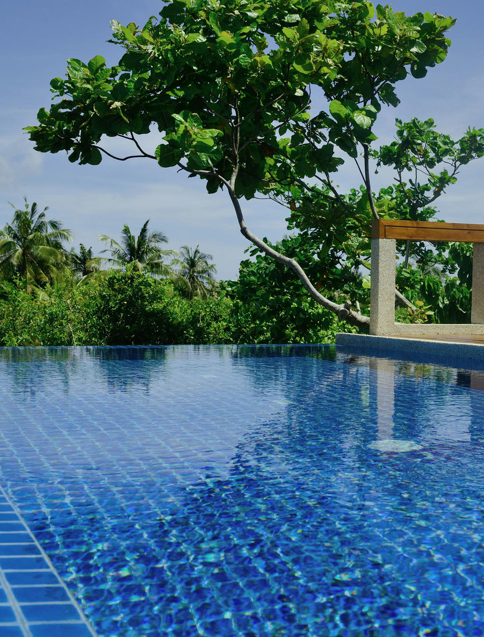 Swimming Pool, Treetop Pool Casita - Amanpulo, Philippines