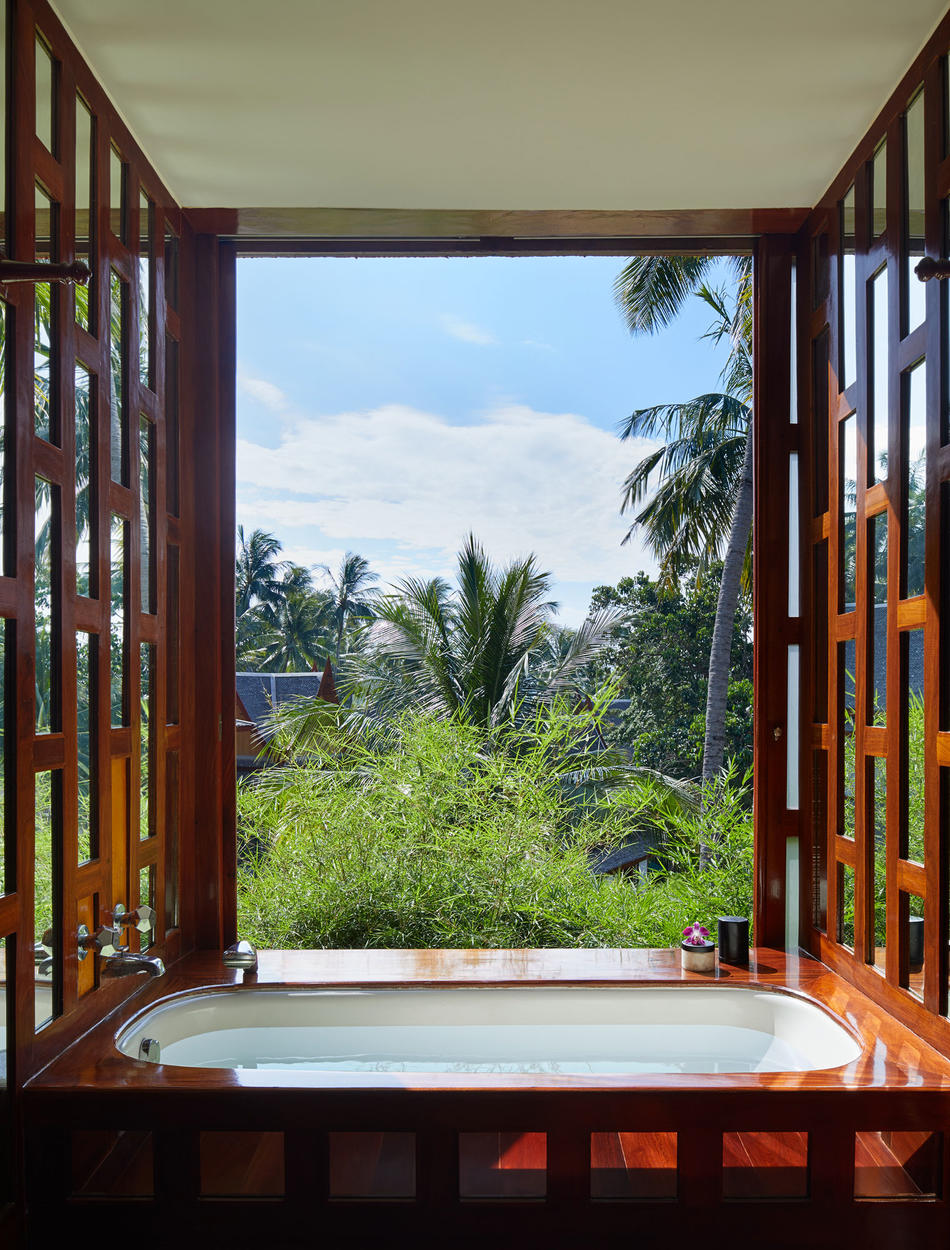Bathroom, Four-Bedroom Garden Villa - Amanpuri, Thailand