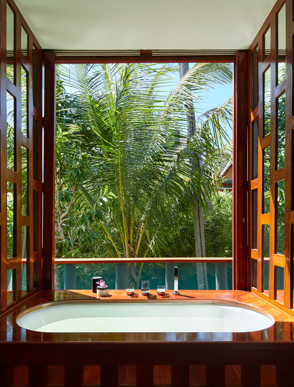 Bathroom, Five-Bedroom Garden Villa, Amanpuri, Thailand