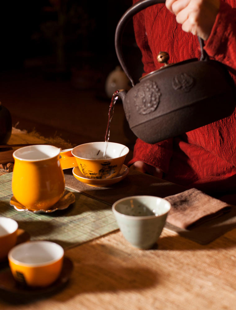 Traditional Chinese Tea Ceremony - Aman Summer Palace, China