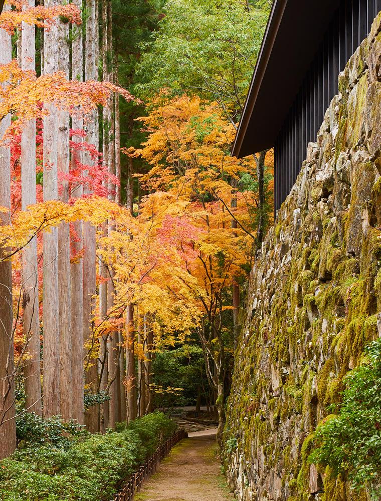 Walkway, Takagamine Suite - Aman Kyoto, Japan