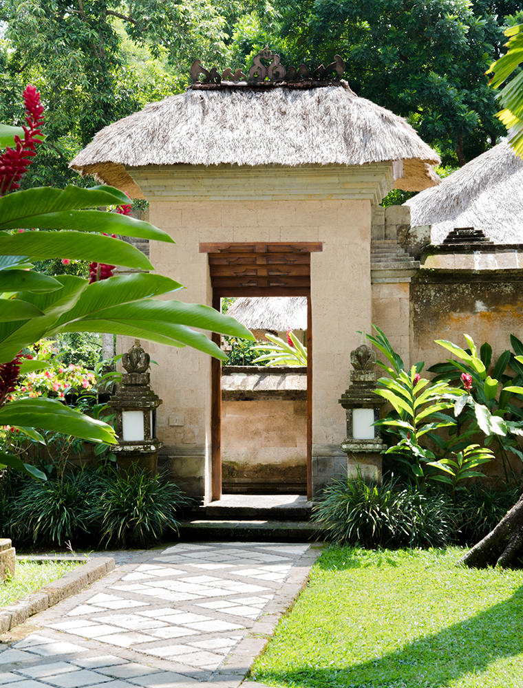 Entrance, Valley Suite - Amandari, Bali