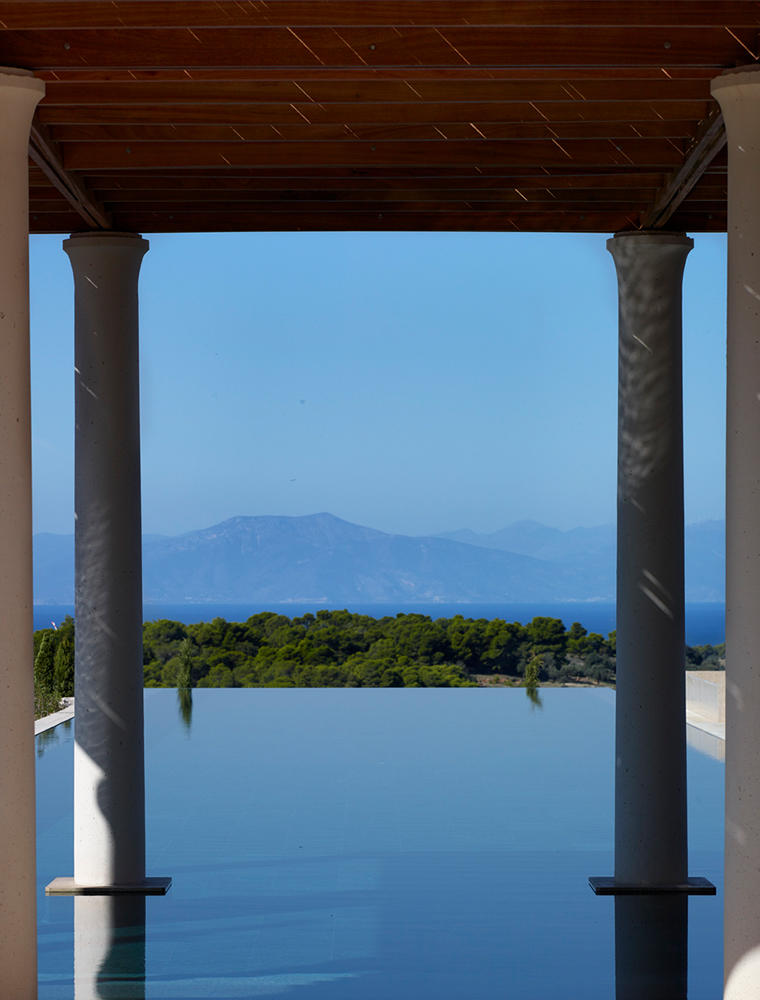 Swimming Pool & View, Villa 20, Amanzoe, Greece