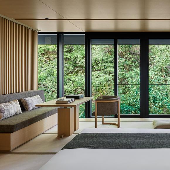 Aman Kyoto, Japan - Accommodation, Bedroom